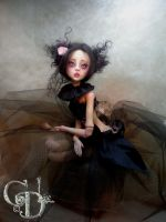 Amalia Ball jointed doll by cdlitestudio