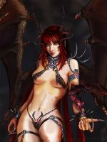 Succubus close-up by fatalis-sacristia
