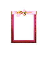 Pink Frame 2 png by sophia-T