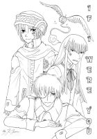 If I Were You coverbw by Kanda-kun