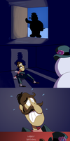 Five Nights at Frosty's by zelc-face