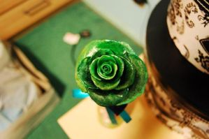 Green Rose by PoisonJoshy