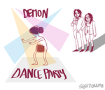 Demon Dance Party by sweetlynumb63