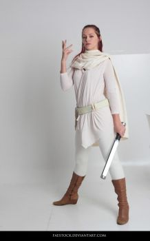Jedi  - Stock Pose Reference 12 by faestock