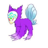 Purple egg hatchling by CleverConflict
