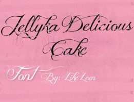 Jellyka Delicious Cake Font by LikeLeen