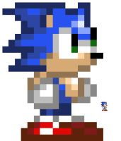 Tiny Sonic Sprite by Doom-Fox