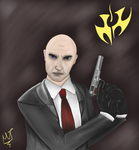 Hitman Agent 47 by Grimroof