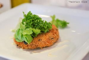 Crab cake by patchow