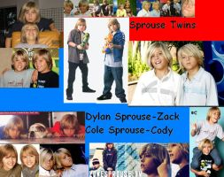 Dylan and Cole Sprouse by Dark-Tundra-Chaos