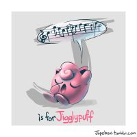 J is for Jigglypuff by Jupeboxgal