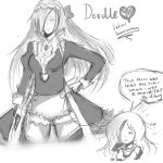 Maid for a day (Doodle) by Valiant-Swordswoman
