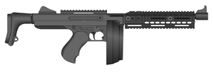 CQCR2042-A1 Close Quarters Combat Rifle by GrimReaper64
