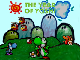 The Year Of Yoshi - Yoshi's Story Wallpaper by TheWolfBunny