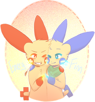 hes my best friend best of all best friends by Kalpaca