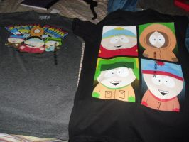 my two new shirts by lisabean
