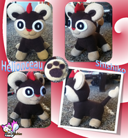 Shishiko Plushie :Sold: by Ami-Plushies