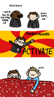 Fanboy Powers, ACTIVATE! by geothebio