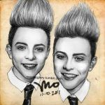 My Jedward Drawing by mcglory