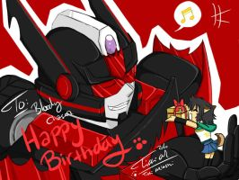 DH n Chaser : Happy BirthDay by Tc-Chan