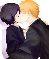 Ichiruki - Kiss by gone-phishing