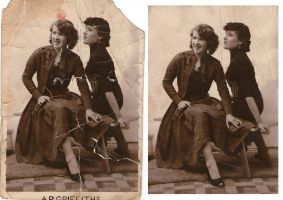 Photo restoration by mike-a