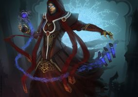 Dark arcane arts by N7U2E