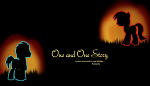 One and One Story Wallpaper by Knight-of-Bacon