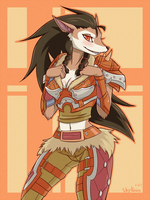 XinXiao the Worgen by SkyKain