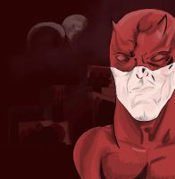 Daredevil (Marvel Sketch Challenge! 3 out of 30) by ProjectCornDog