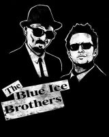 The Blue Ice Brothers by spacemonkeydr