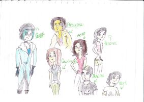 TD Characters in other style by SariDxCxoxoPrincess