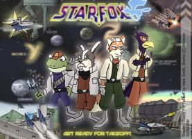 Starfox - Ready For Takeoff by FreyFox