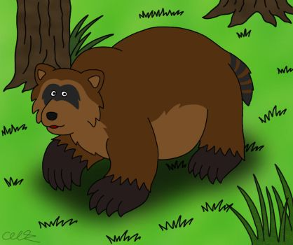Bear-a-coon by napalmhonour