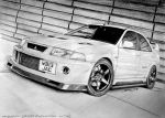 MITSUBISHI LANCER EVOLUTION VI T.M.E. by krzysiek-jac
