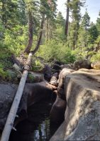 Squaw Valley, river and falls by TutorVeritatis