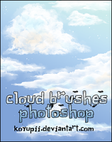 CLOUD BRUSHES by koyupii