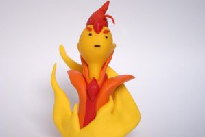 Flame Prince Bust (anothwer view) by G-ROP