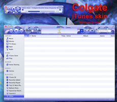 Colgate iTunes skin by rhubarb-leaf