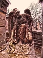HDR Pere Lachaise Paris 3 by jdesigns79