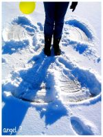 snow angel? by ze-punky-death