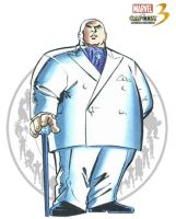 Kingpin - Marvel vs Capcom 3 by AverageSam