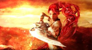 Heavenly Sword HD Wallpaper by TheSyanArt