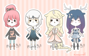 Dreams Adopts [closed] by pinkbunnii