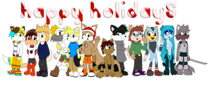 BIG CHRISTMAS PICTURE by Marxpup