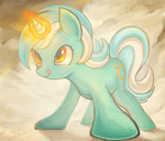Lyra Heartstrings by mask-seaslug