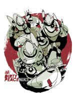 Dirty Peaceniks by Jawa-Tron