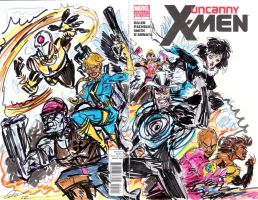 The X-pendables by joselrodriguesart