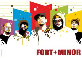 Fort Minor in WPAP by setobuje