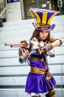 Boom, Headshot! - Caitlyn Cosplay by MSFlevy